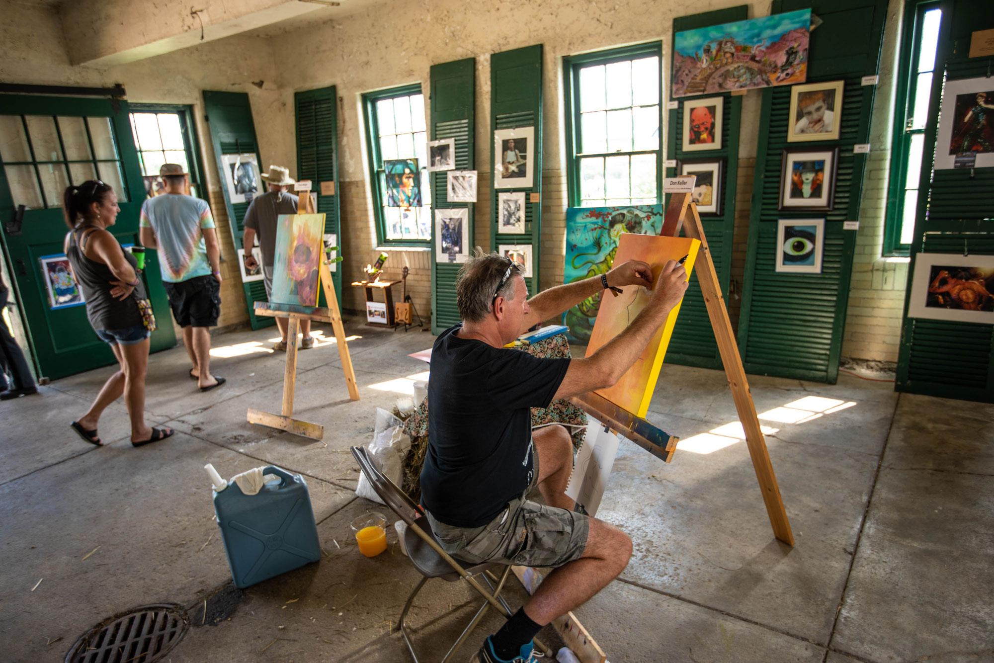 Art Garage and Live Art