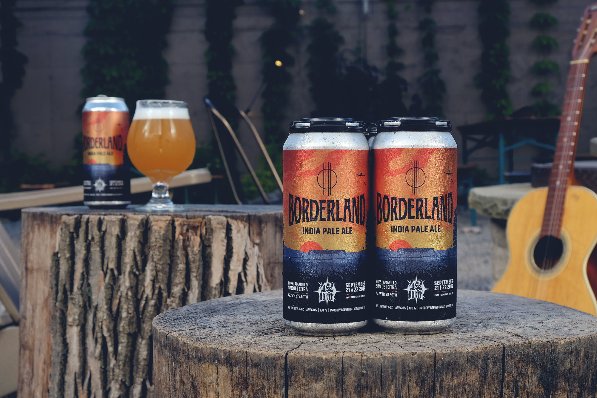 Borderland Festival x 42 North Brewing Limited Edition IPA Can