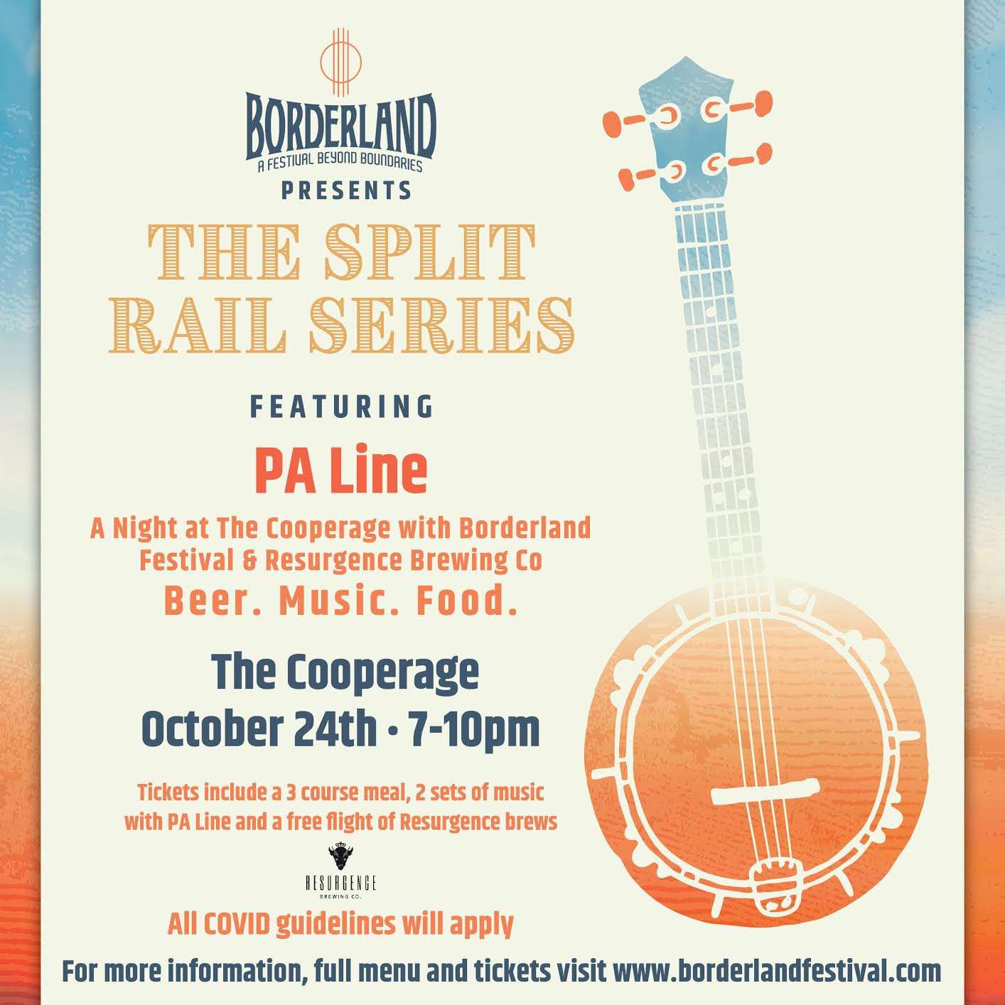 Split Rail Series – A Night at the Cooperage with PA Line